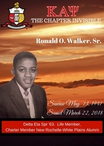 "Ronald O. ""Ronnie""  Walker Sr."